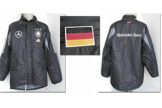 match worn football jacket Germany 2004 Original match