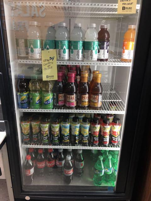 Contenu de frigo - boissons