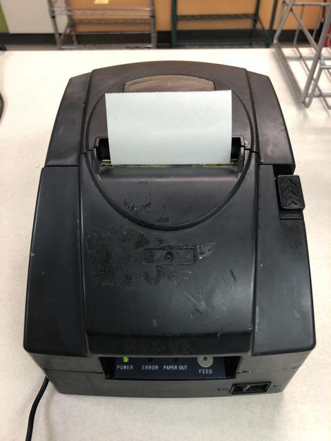 Imprimante à reçus JOLIMARK # TP230USC