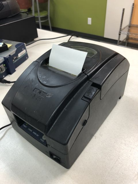 Imprimante à reçus JOLIMARK # TP230USC - Image 2 of 2