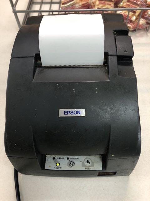 Imprimante à reçus, cuisine # M188 B -