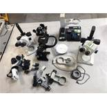 Stereoscope Assorted Parts