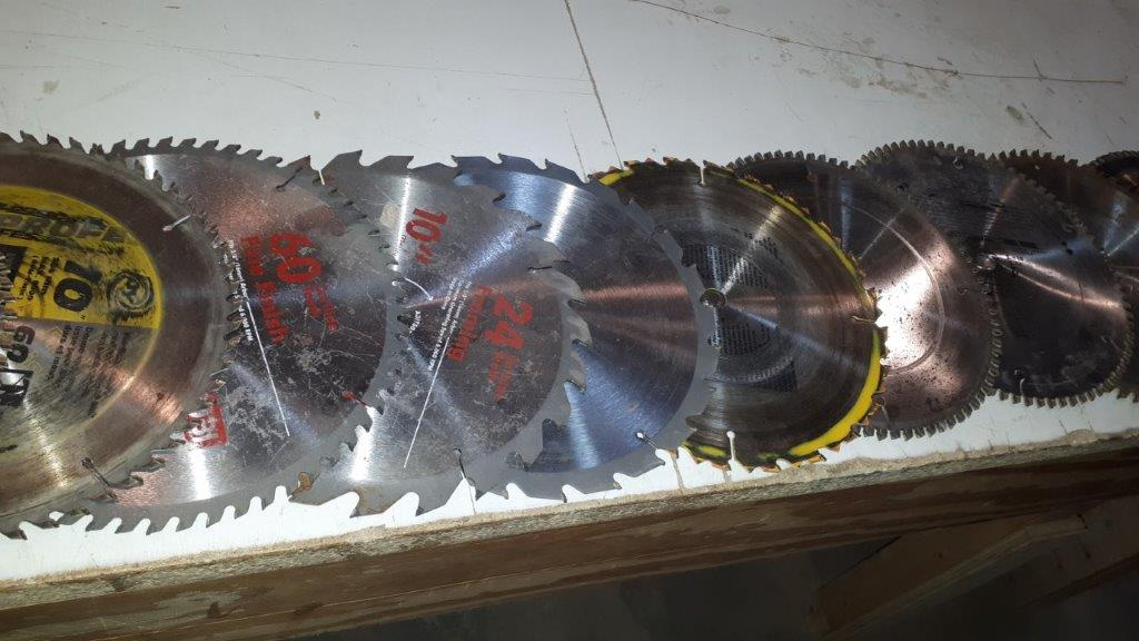 Lot 51 - LOT: (16) Assorted Saw Blades