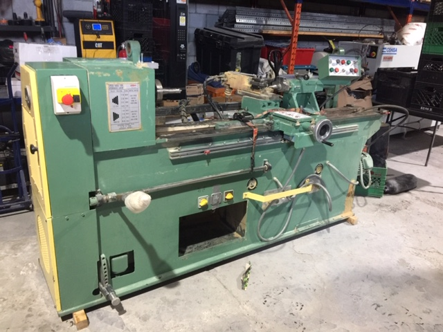 Lot 33B - CALPE Lathe, mod: M-1200H - Financial Recovery Asset - Purchased in 2016 for $6,000