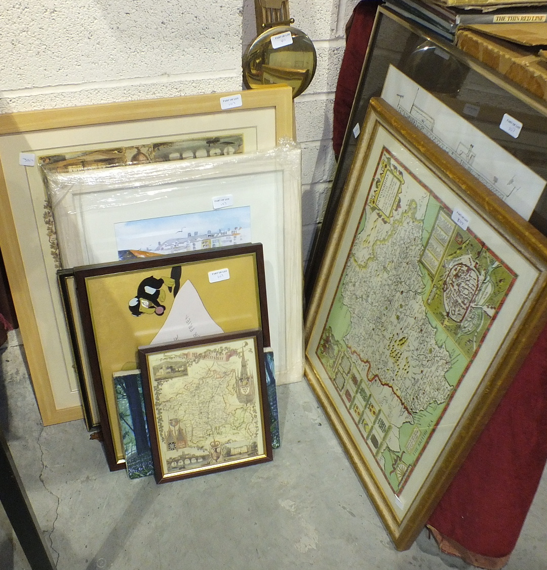 Lot 107 - A small collection of modern military books and miscellaneous military models.