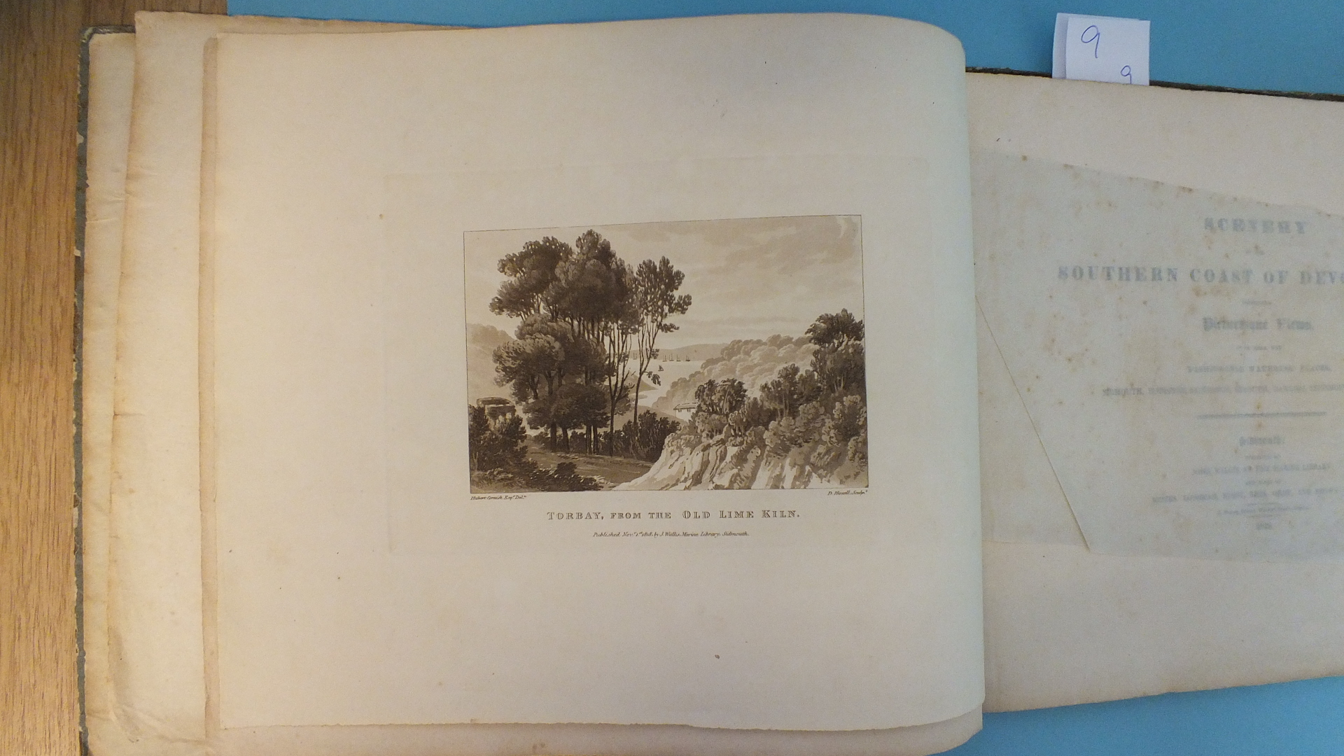 Lot 139 - Haseler (H), (Illustr.), Scenery on the Southern Coast of Devonshire Comprising Picturesque