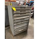 8 DRAWER INDUSTRIAL PARTS CABINET/TOOL BOX