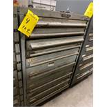 9 DRAWER INDUSTRIAL PARTS CABINET/TOOL BOX