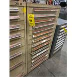 14 DRAWER INDUSTRIAL PARTS CABINET/TOOL BOX