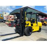 """HYSTER H10XL2 10,000 LB CAPACITY FORKLIFT, 136"""" HEIGHT CAPACITY, GAS, TILT, SIDE SHIFT, HYDRAULIC FO"""