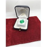 APPROX 8.14ct EMERALD
