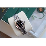 *Gorgeous* Rolex Black Diamond 'Lady' DateJust 26