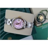 *Gorgeous* Rolex Pink Diamond 'Lady' DateJust 26