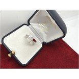 1.51ct DIAMOND SOLITAIRE RING MARKED 750 ( TESTED AS 18ct GOLD)