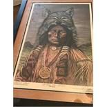 VERY RARE EVEL KNIEVEL SIGNED ARTIST PROOF ARTWORK 1983
