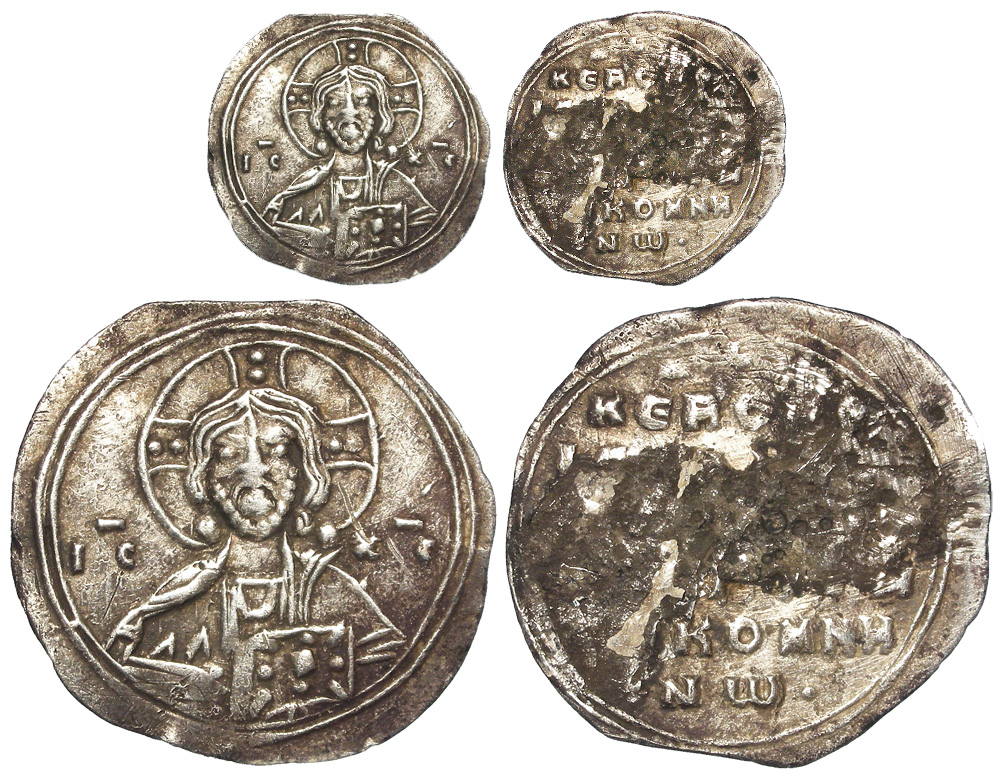Lotto 1391 - Isaac I Comnenus, 1st.September 1057 - 25th. December 1059, Byzantine two-thirds silver miliaresion,