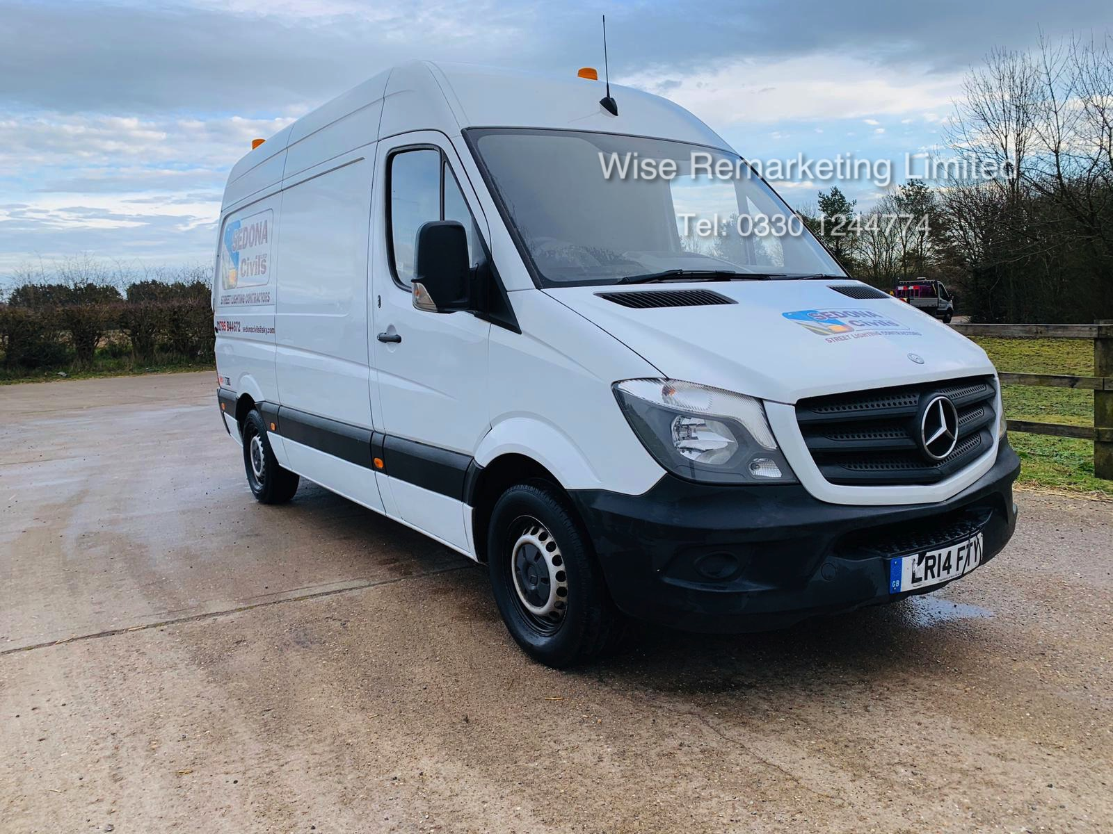 Lot 9a - Mercedes Sprinter 313 2.1 CDI - 2014 14 Reg - 6 Speed - Ply Lined - Company Owned