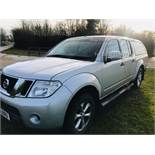 Nissan Navara Acenta Double Cab 2.5 DCI - 2012 Model - 1 Keeper From New