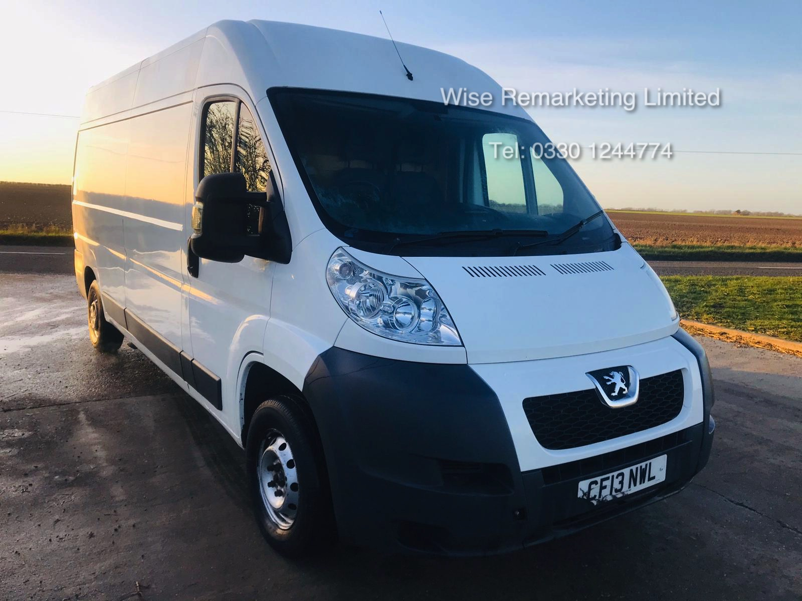 Lot 40 - Peugeot Boxer 335 2.2 HDi - LWB - 2013 13 Reg - Ply Lined - 6 Speed -