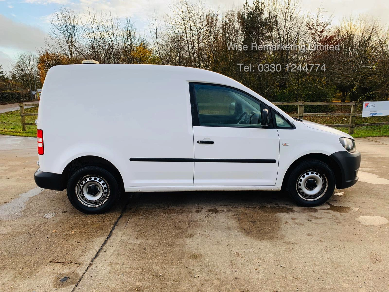 Lot 24 - Volkswagen Caddy C20 1.6 TDI - 2012 Model - 1 Keeper From New - Side Loading Door - Ply Lined
