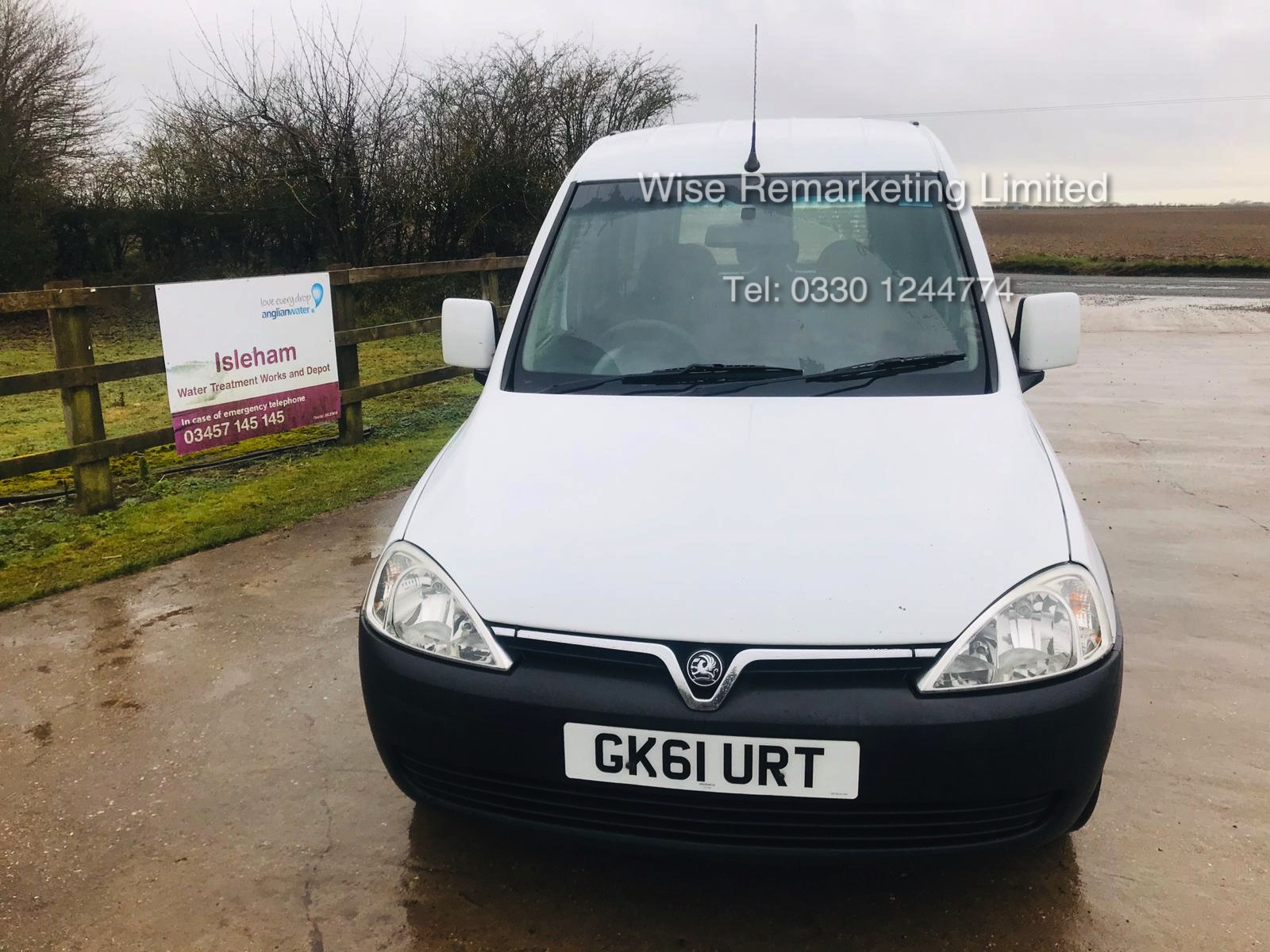 Lot 39 - Vauxhall Combo 2000 1.2 CDTi S Automatic Crew Van **5 Seater** - 2012 Model - 1 Keeper From New