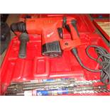 "MILWAUKEE 1-1/2"" ROTARY HAMMER W/ CASE"