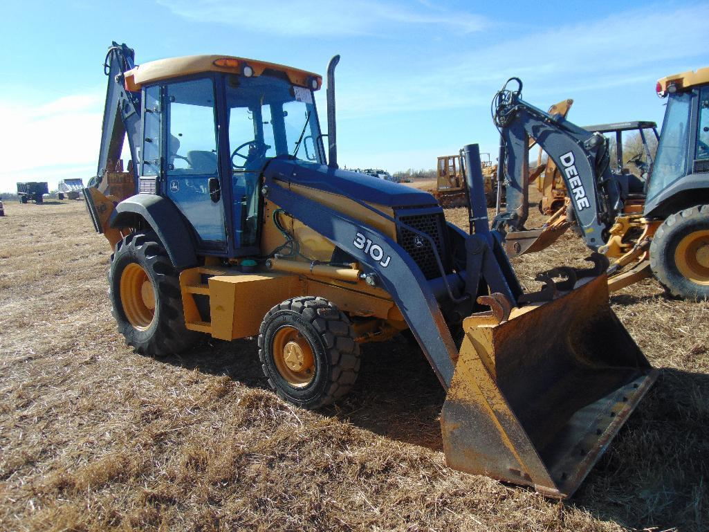 2012 John Deere 310j 4x4 Loader Backhoe  S  N 210388  Gp