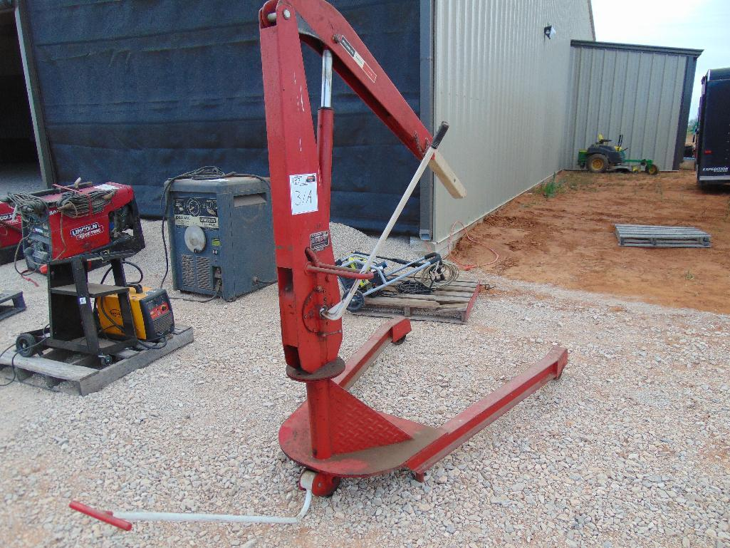 Lot 31a - Blackhawk mc2000 Mobile Crane, s/n 1844