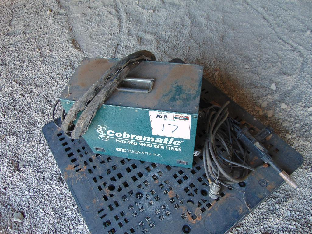 Lot 17 - CobraMatic 150-003 Wirefeeder, s/n 36871
