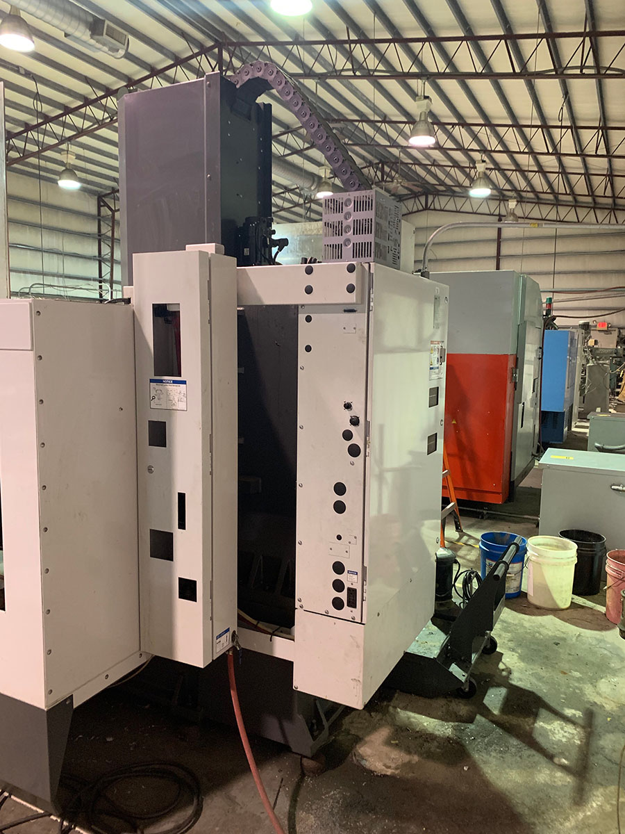 2011 HAAS VF2 VERTICAL CNC MACHING CENTER - Image 3 of 3