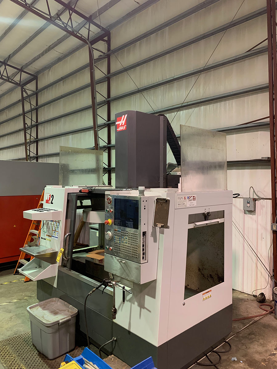2011 HAAS VF2 VERTICAL CNC MACHING CENTER - Image 2 of 3