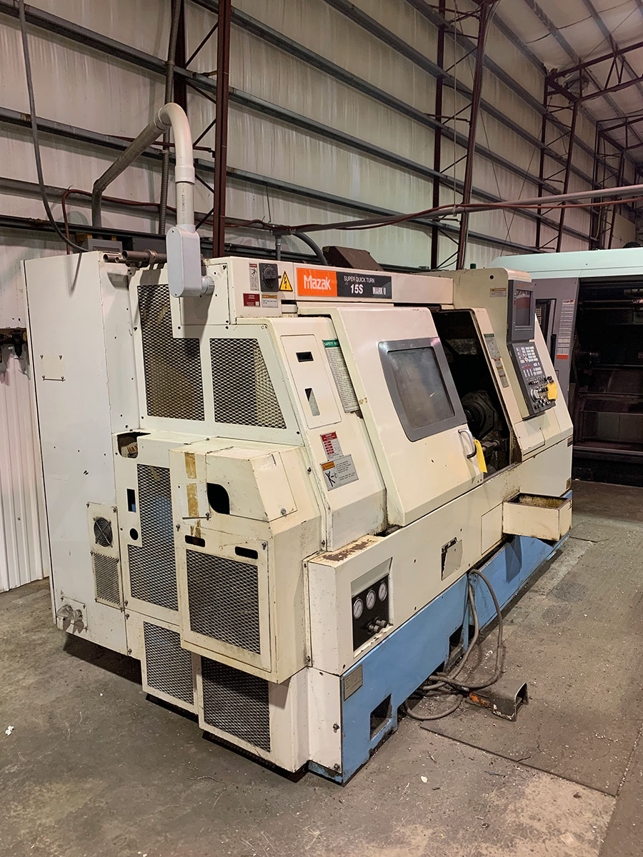 1995 SUPER QUICK TURN 15S MARK II CNC TURNING CENTER, S/N 117104, 12-POSITION TOOL HOLDER, - Image 2 of 2
