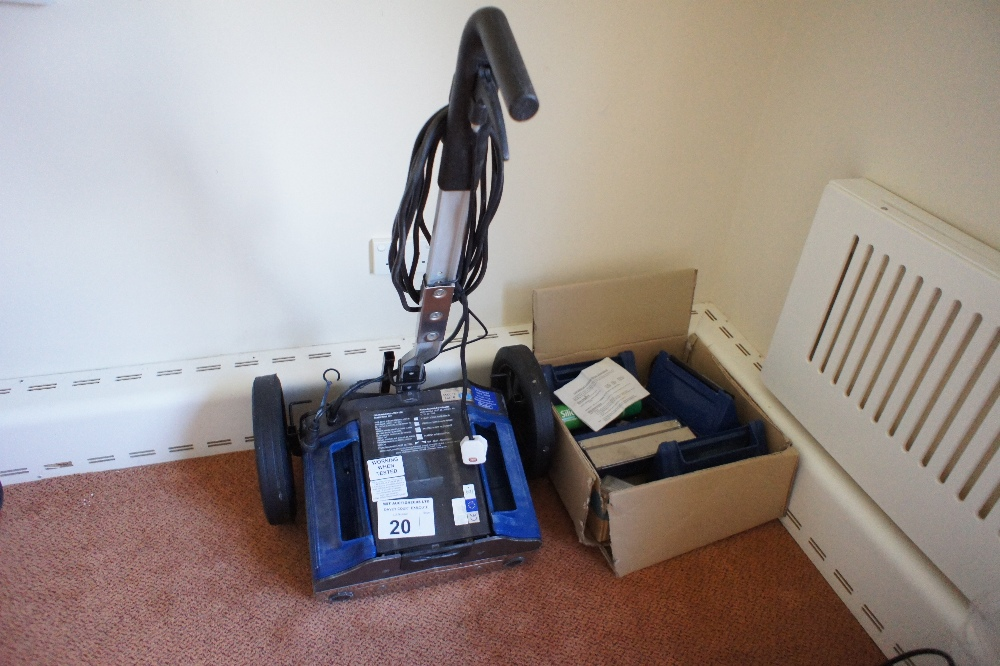 Lot 20 - 1 DUPLEX carpet cleaning machine (no model visible) (located in room 7, Davey Court)