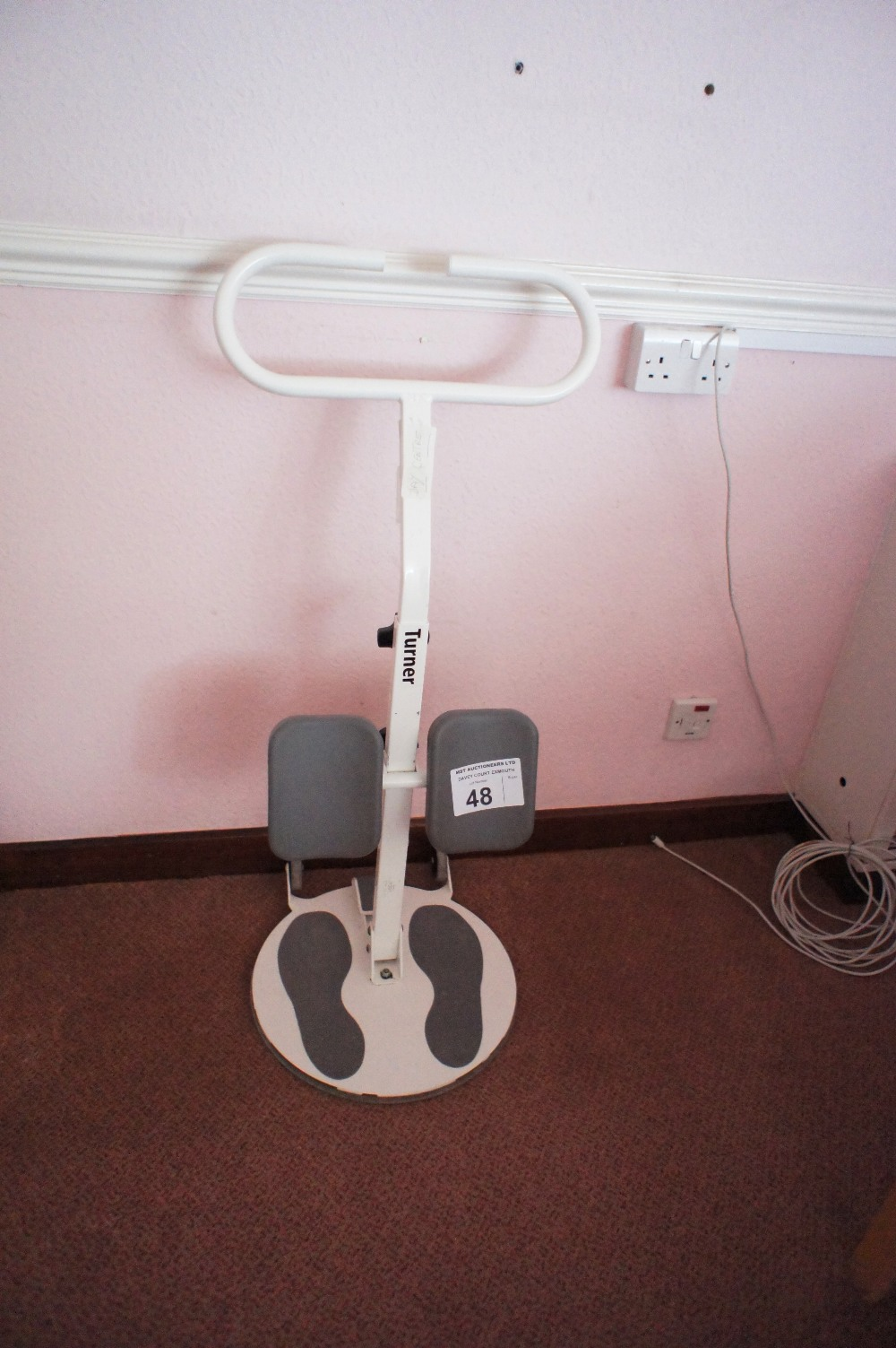 Lot 48 - 1 tubular patient Turner/trolley (located in room 18, Davey Court)