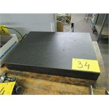 "GRANITE 24""X18""X3"" SURFACE PLATE"