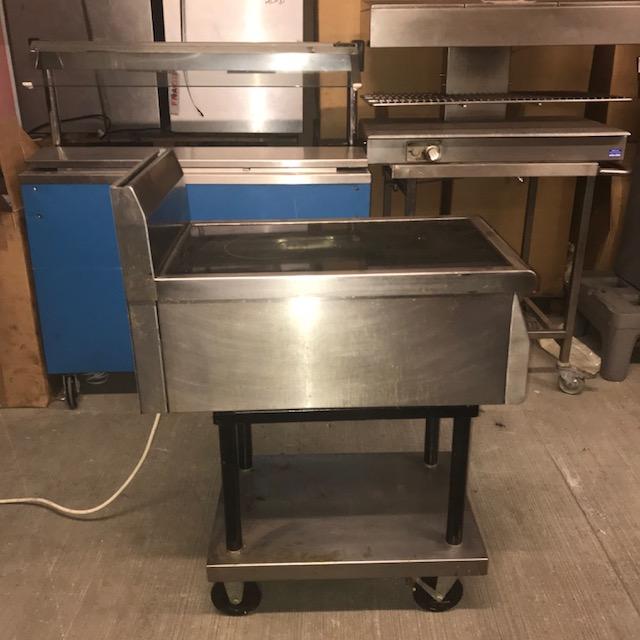 Lot 1 - Moorwood Vulcan MVIN2 Heated Induction Heated Induction unit 450 x 800 x 860mm V/Ph/Hz. 230/1/50