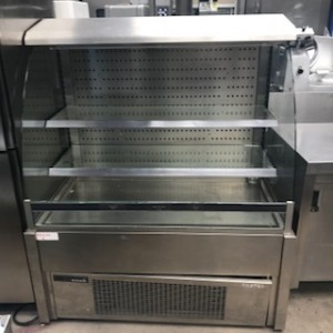 Lot 27 - Foster FDC 1200. 1200 wide Display open fronted Perfect for maximising impulse sales of chilled food