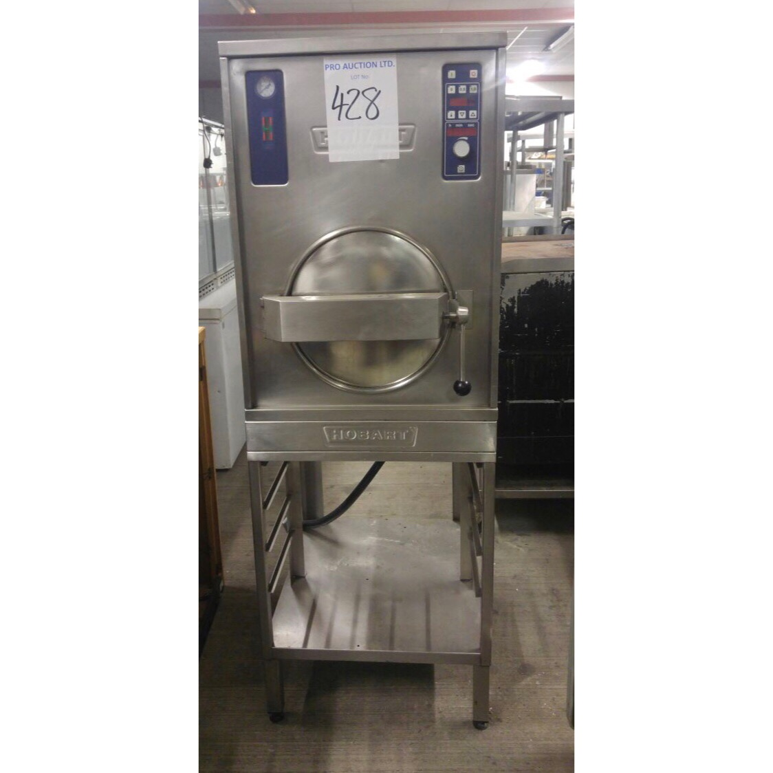 Lot 19 - Hobart Pressure Steamer This is a very healthy method of cooking. Rapid, healthy, cost effective and
