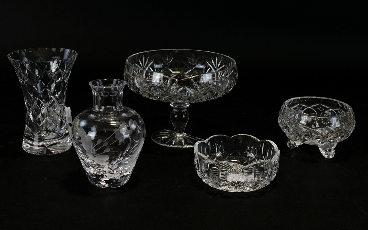 Lot 766 - Mixed Collection of Glassware Collectabl