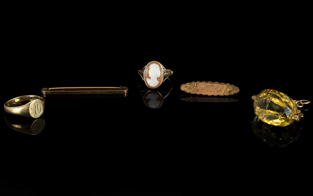 Lot 113 - Collection of 9ct Gold Jewellery ( 5 ) F