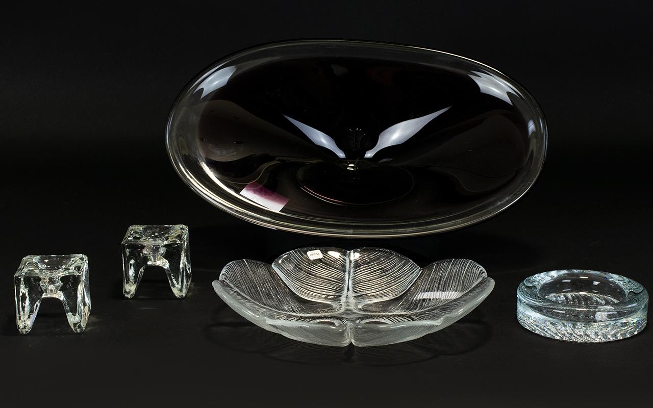 Lot 756 - Scandinavian Glass Collection comprising