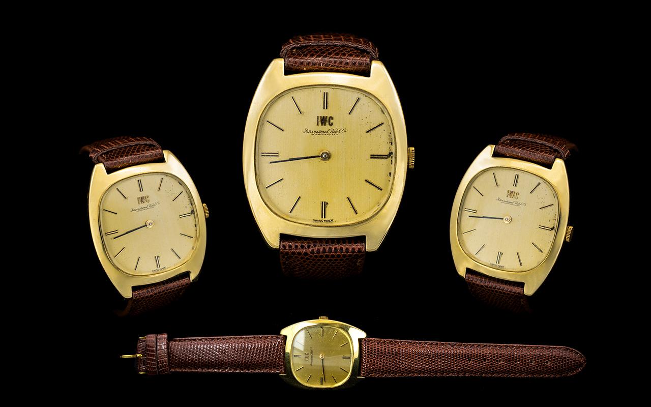 International Watch Company A Rare 18ct