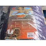 2x Snoozzzeee Dog - Purple Lounger Dog Bed (Size 1) - All New & Packaged.