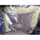 """4x Snoozzzeee Dog - Brown Sofa Dog Bed (23"""") - All New & Packaged."""