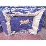 """5x Snoozzzeee Dog - Purple Sofa Dog Bed (23"""") - All New & Packaged."""