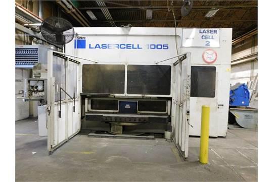 2005-2006 Trumpf Laser Cell TLF 3200 Watt Trumpf Resonator