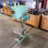 """Astra GWT 30A - Tapping machine. Throat 7 1/2"""". Table Diameter 12 1/2"""". Motor 1/2 HP."""