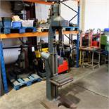 Herbert Single Spindle Pedestal Drilling Machine. 2 Morse Taper.