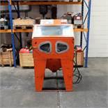 Butterfield Bead Blaster. Shot Blast Cabinet. Apperture Size 9020mm x 770mm x 720mm.