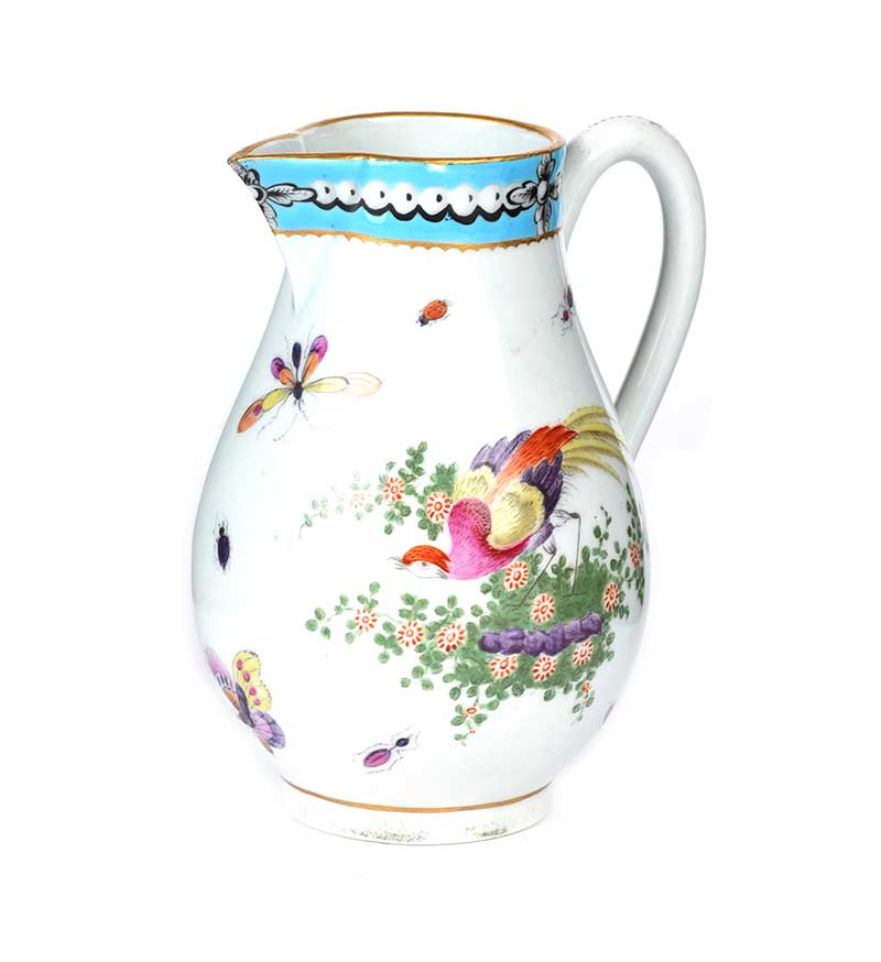 Lot 19 - EARLY WORCESTER JUG